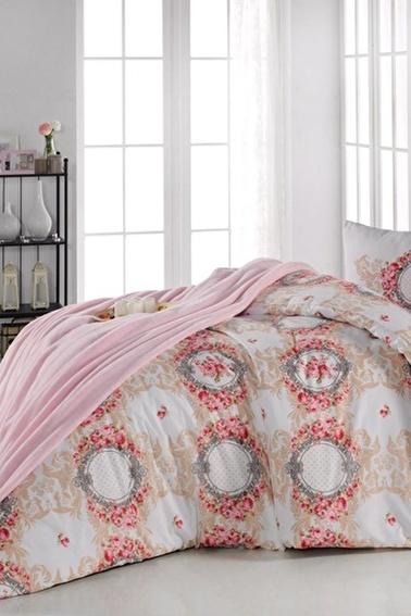 Lady Moda Anemon Tek Kişilik Pike Takımı Renkli